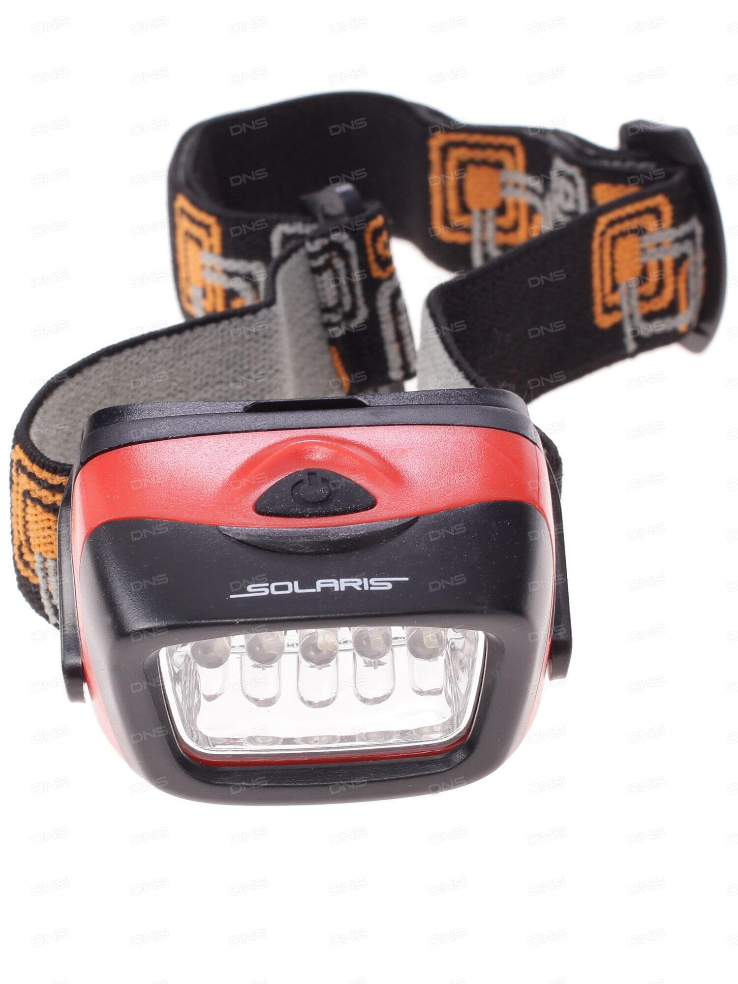 Налобный аккумуляторный фонарь Ultraflash E150 220В