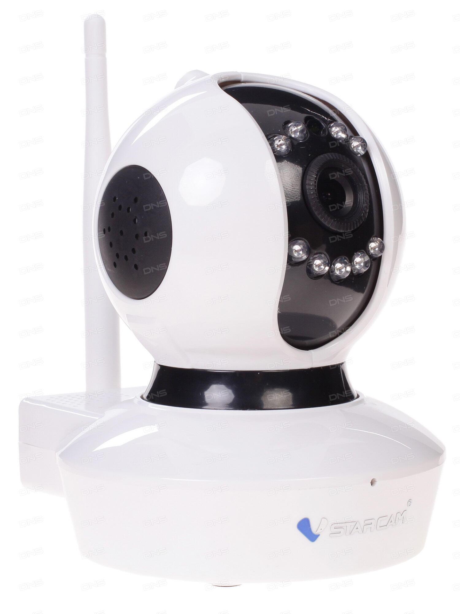 Камера VStarcam C7838WIP MINI Беcпроводная IP-камера 1280x720 280° P2P 3.6mm 0.8Lx. MicroSD