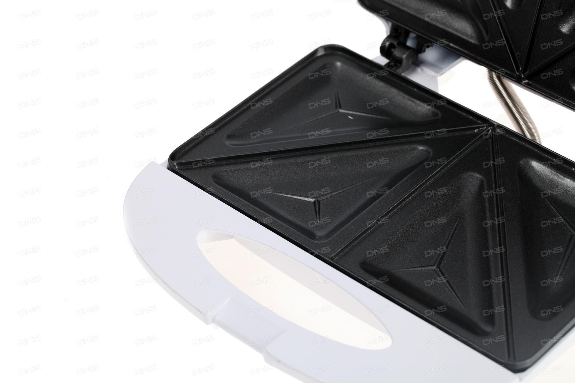 Сэндвичница Clatronic ST/WA 3670 серебристый чёрный