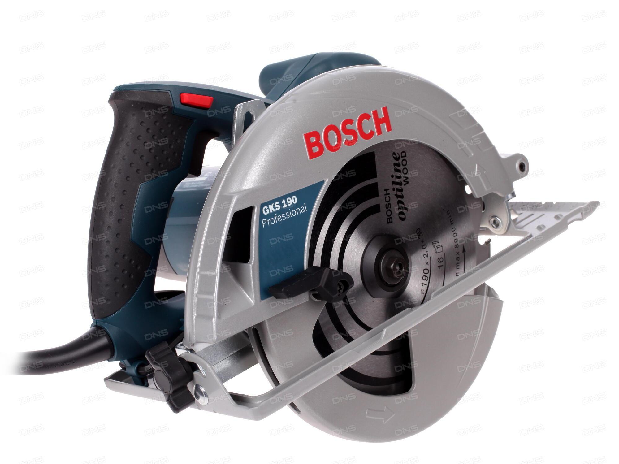Технические характеристики Пила дисковая Bosch GKS 190 ... - photo#26