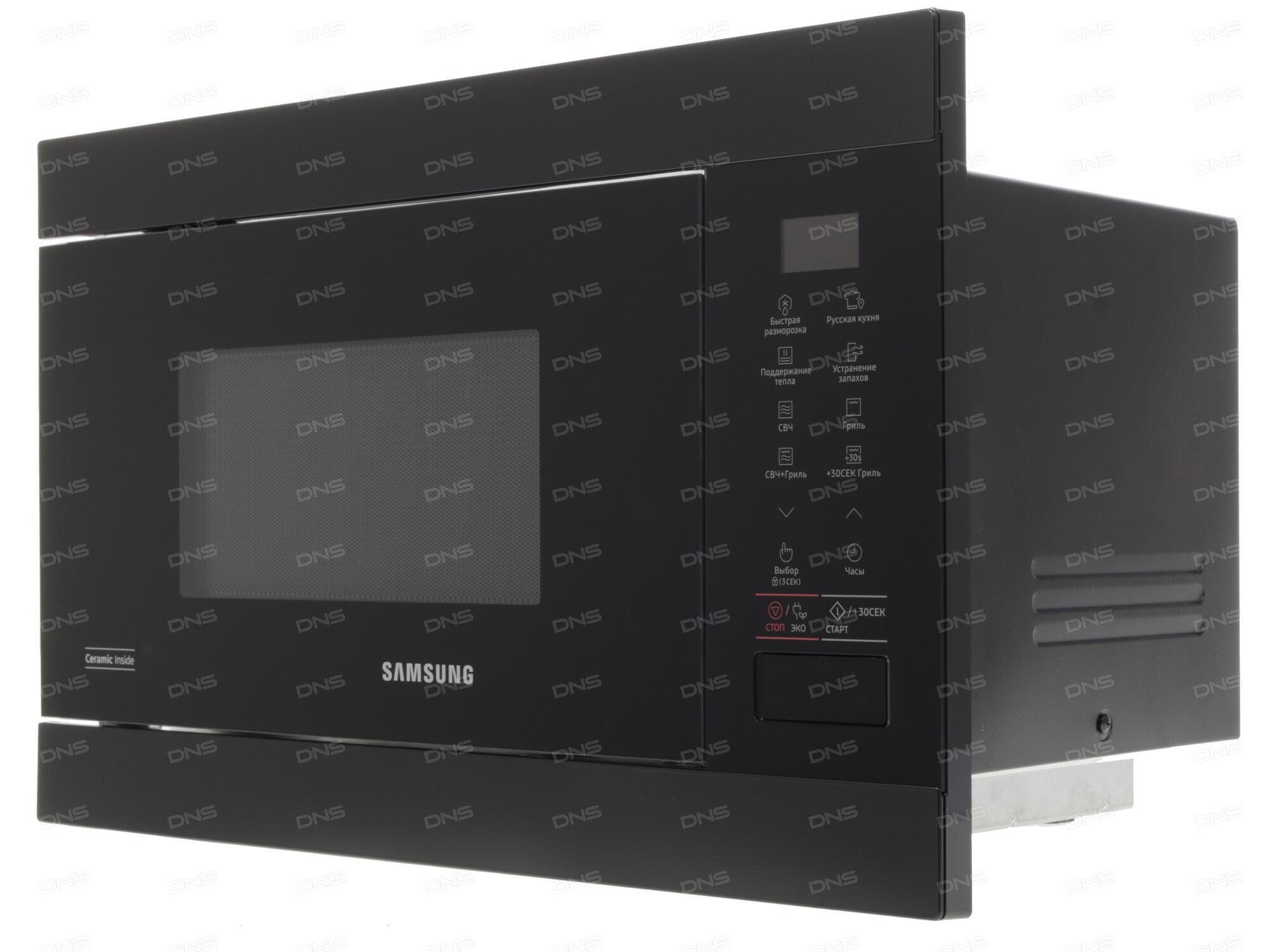 Встраиваемая микроволновая печь Samsung MG22M8054AK ...