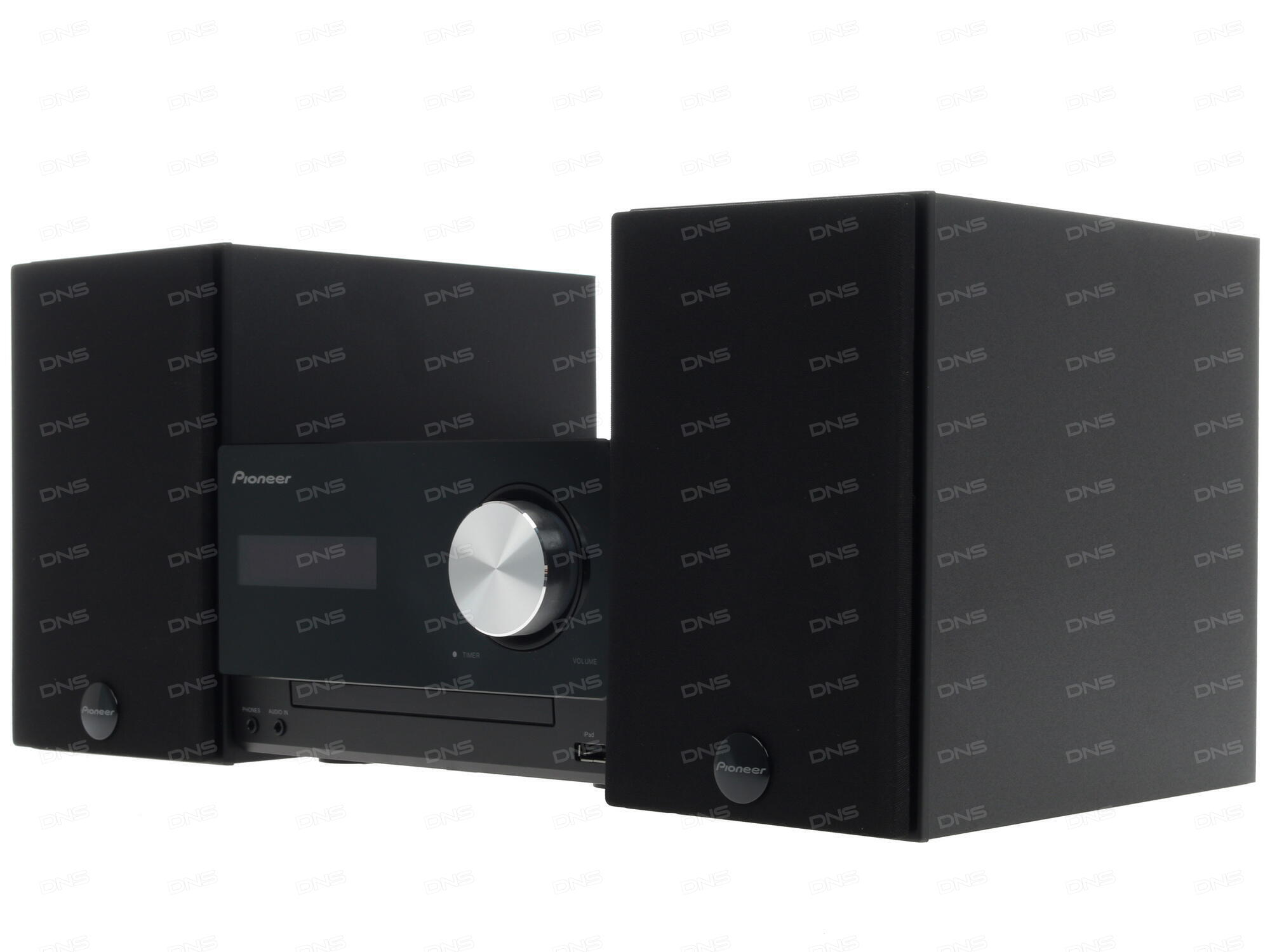 Микросистема Pioneer X-HM26-B 30Вт черный