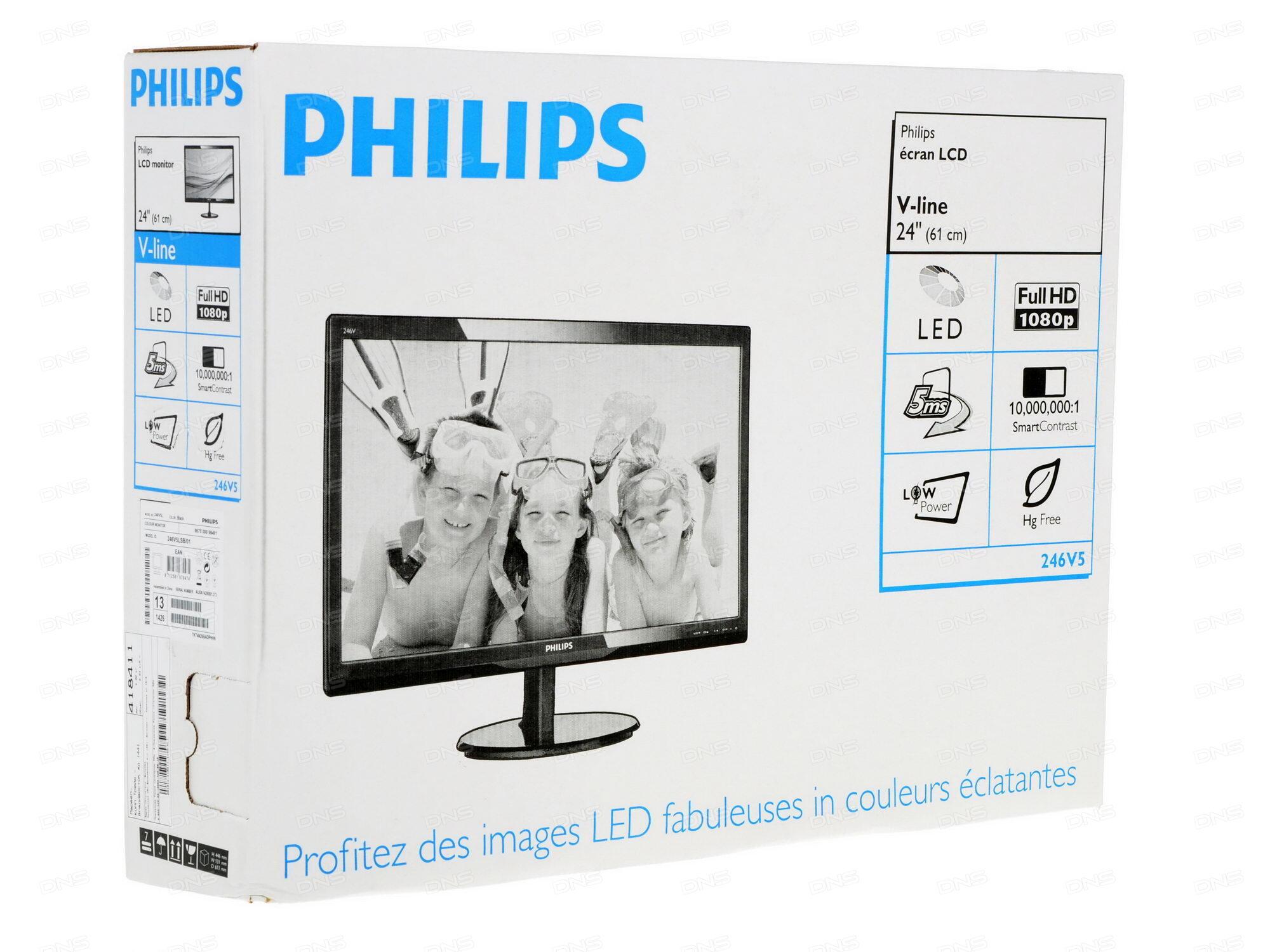 Монитор Philips 246V5LSB / 00/01
