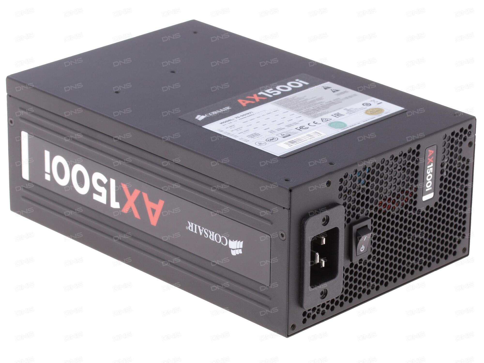 Блок питания Corsair HX1000 1000W CP-9020139-EU