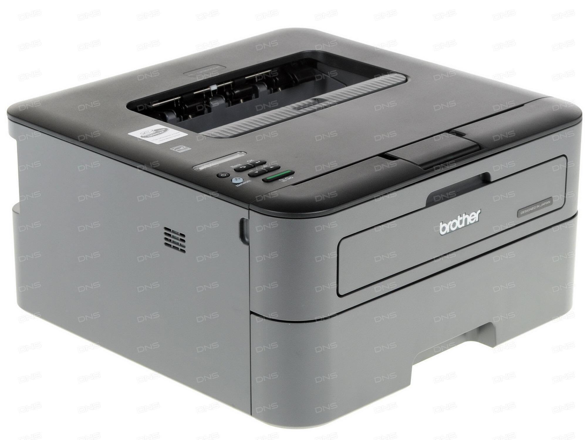 Принтер лазерный Brother HL-L5100DN A4 40стр/мин дуплекс 256Мб USB LAN