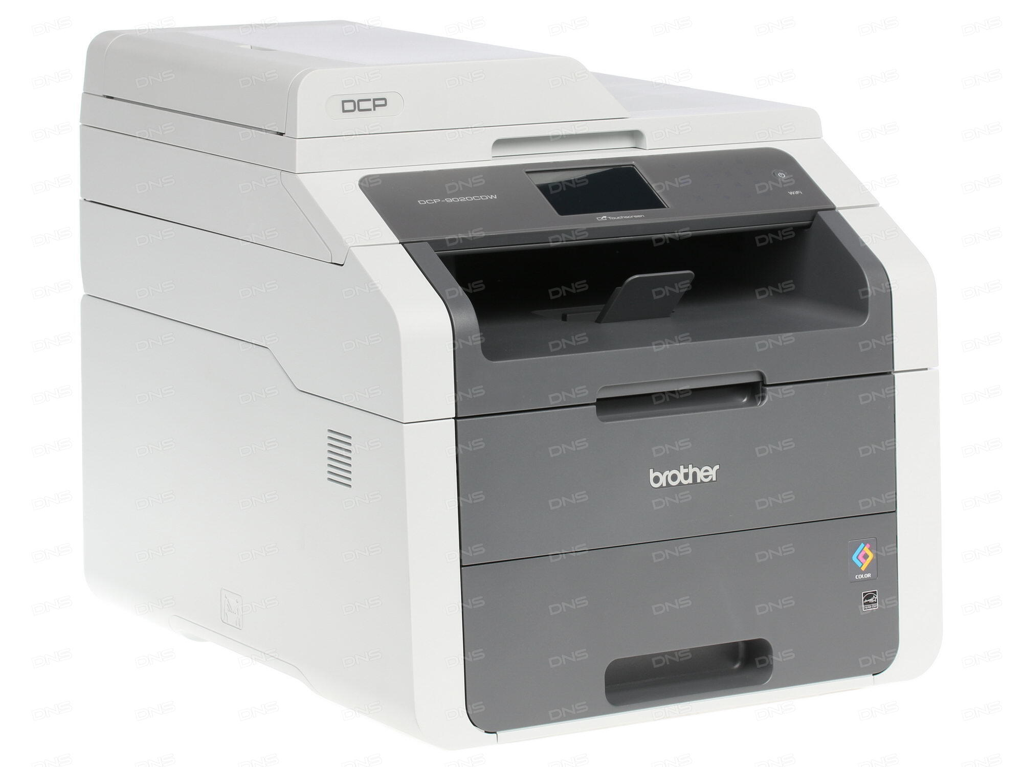 МФУ Brother DCP-9020CDW цветное A4 18ppm автоподатчик дуплекс 600x600dpi Ethernet WiFi USB