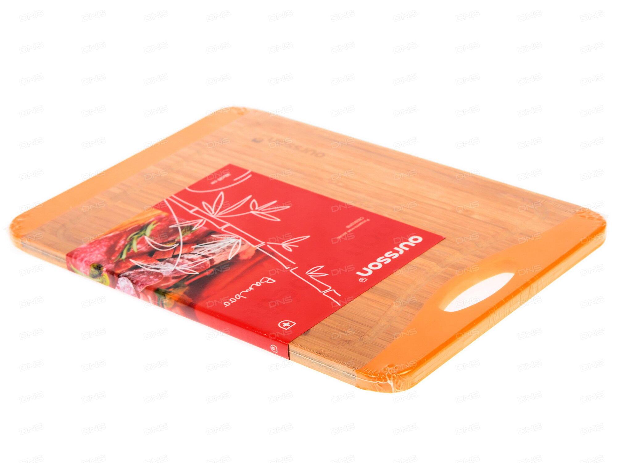 Доска разделочная бамбук 37х16х2см Bekker BK-9719