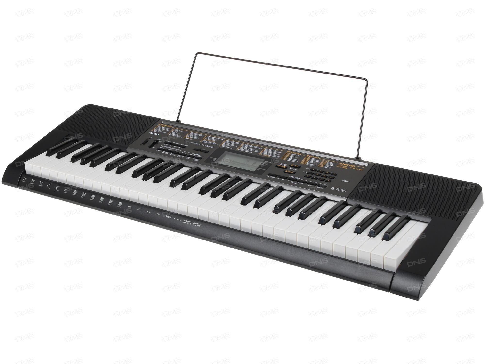 синтезатор Casio 4 октавы