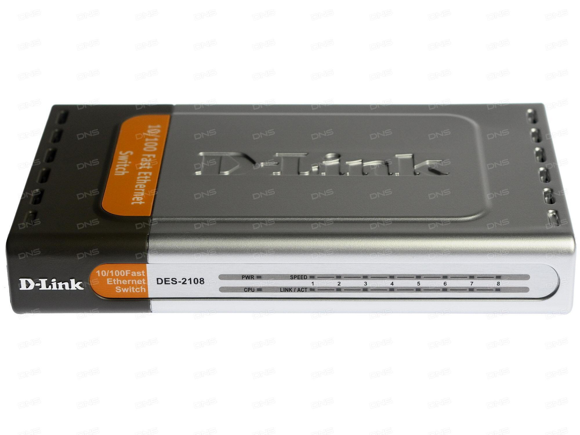 Коммутатор D-Link DGS-1210-26/F1A Настраиваемый коммутатор WebSmart с 24 портами 10/100/1000Base-T и 2 портами 1000Base-X SFP