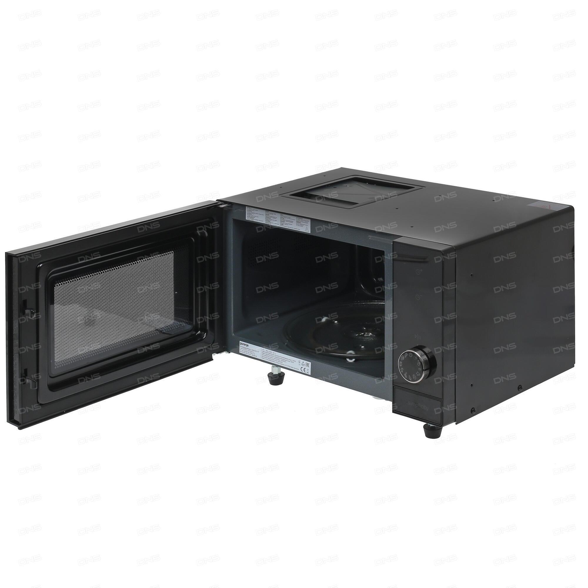 Микроволновая печь Gorenje M021MGB, черная (M021MGB ...