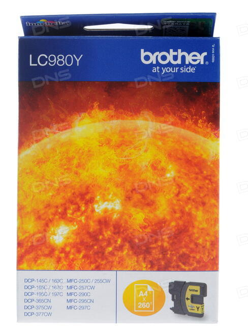 Картридж струйный Brother LC1100BK
