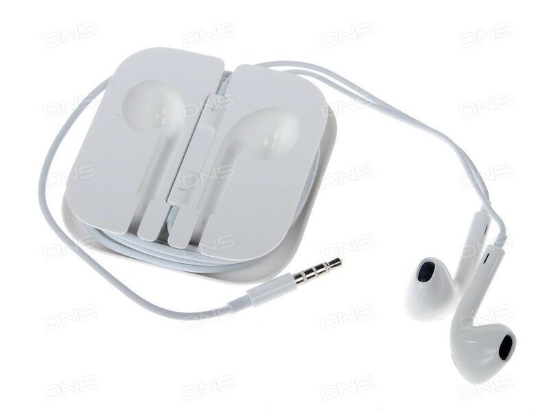 купить гарнитура проводная Apple Earpods 35 Mm белый в интернет