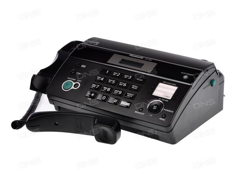 Инструкция для факса panasonic kx ft938