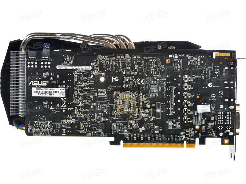 Купить Видеокарта ASUS AMD Radeon R9 270X [R9270X-DC2T-4GD5