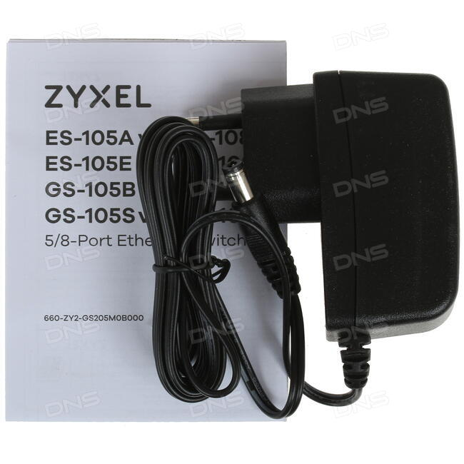 Купить Коммутатор Zyxel GS-105S в интернет магазине DNS  Характеристики,  цена Zyxel GS-105S | 1055064