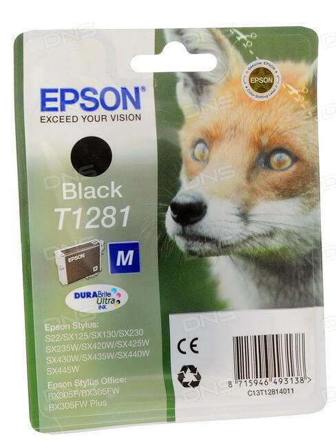 epson t1281 m. Black Bedroom Furniture Sets. Home Design Ideas