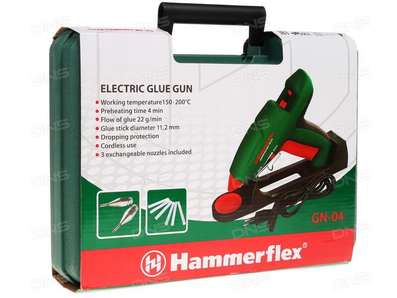 клеевой пичтолет hammer gn 04 отзывы