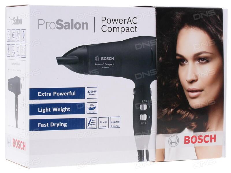 Отзывы покупателей о Фен Bosch PHD 9940 черный. Интернет-магазин DNS 655ee04366215