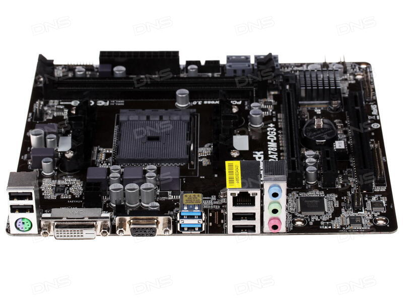 ASRock FM2A78M-DG3+ Motherboard Windows 10 Driver Download