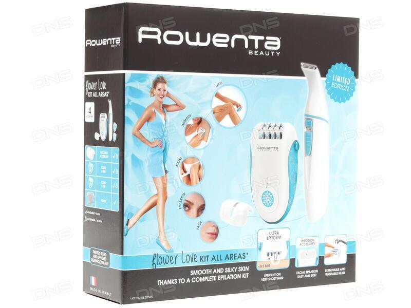 Купить Эпилятор Rowenta EP 2851+триммер в интернет магазине DNS ... 1690bc8741
