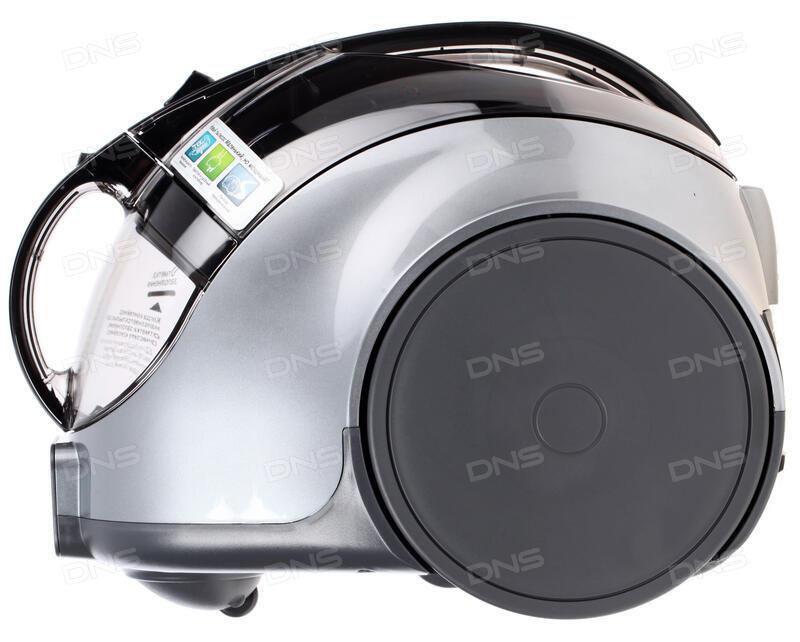 Пылесос LG V-K89304H сухая уборка серебристый