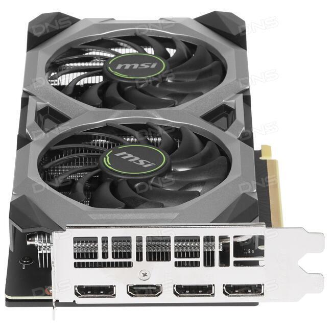 Купить Видеокарта MSI GeForce RTX 2070 VENTUS [RTX 2070 VENTUS 8G] в  интернет магазине DNS  Характеристики, цена MSI GeForce RTX 2070 VENTUS |  1316027