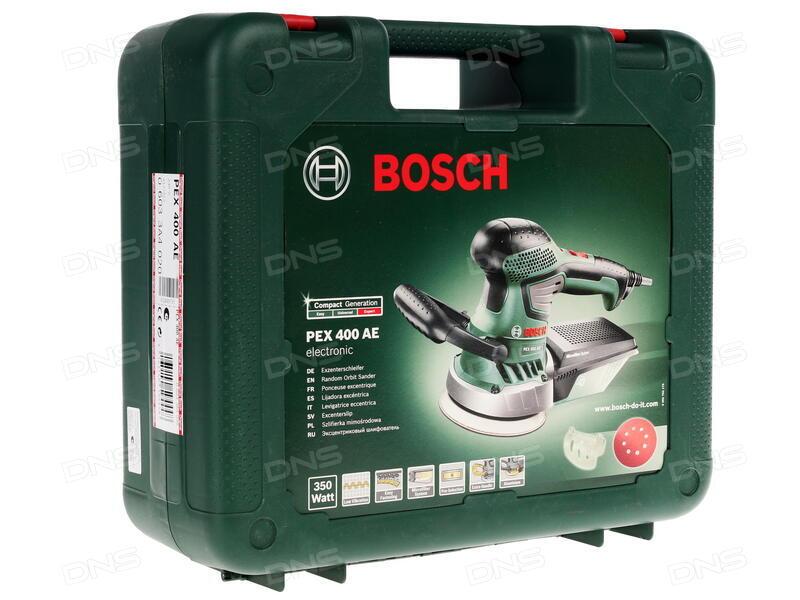 Ultra Купить Эксцентриковая шлифмашинка Bosch PEX 400 AE в интернет IP76