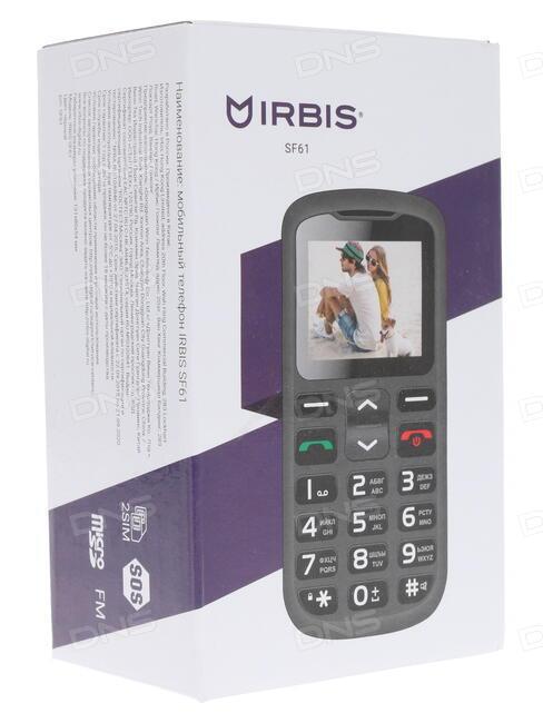 Сотовый телефон Irbis SP58 Black