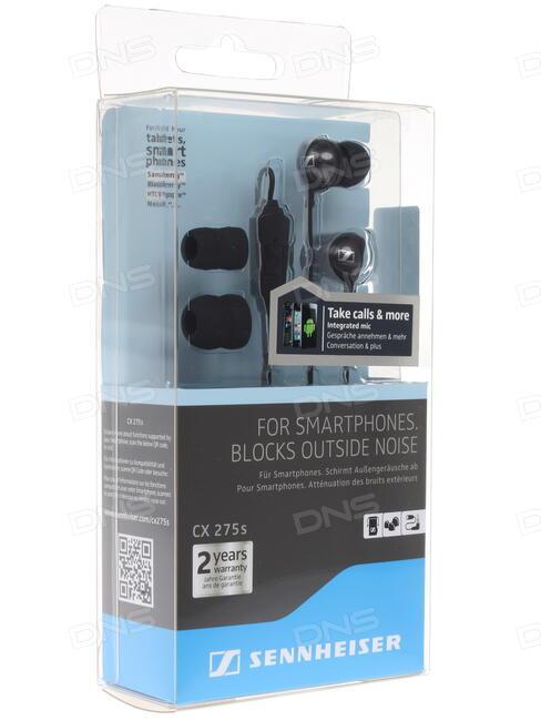 наушники / sennheiser sennheiser cx 275s Sennheiser CX 275s - earphones with mic Overview - CNET