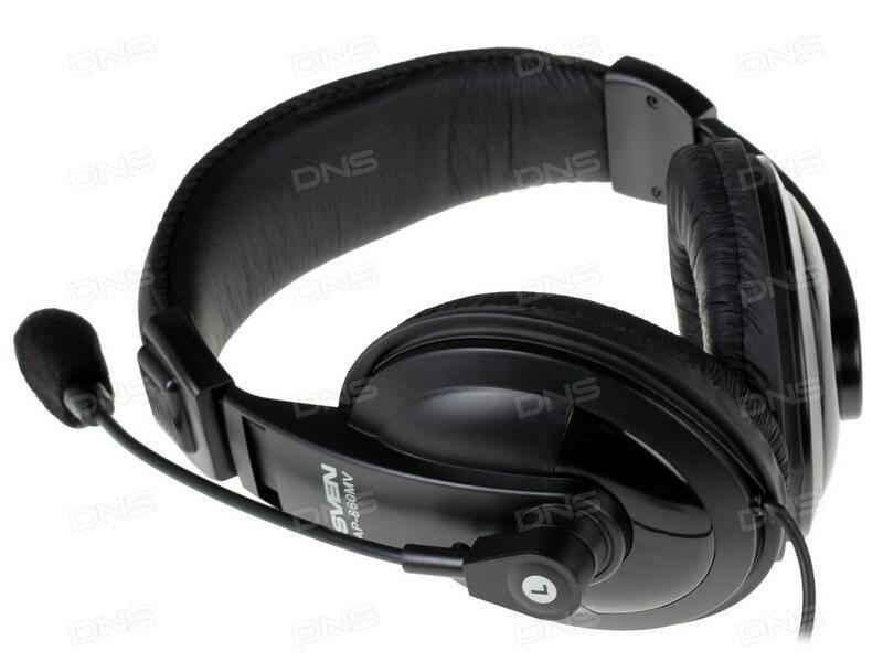 Купить Наушники SVEN AP860 черный в интернет магазине DNS ... 85c2ec7ba157b