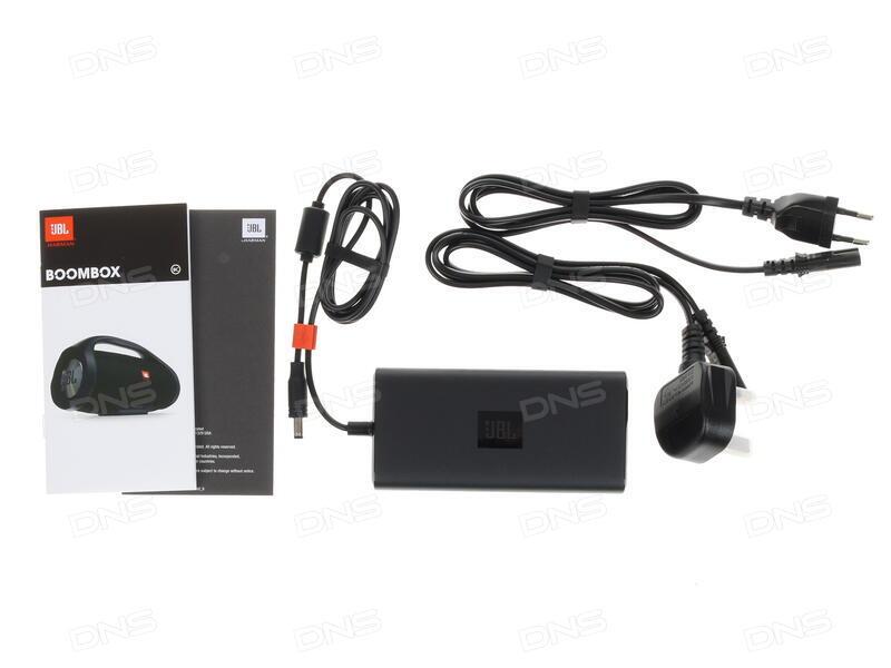 Купить Портативная колонка JBL Boombox черный в интернет магазине DNS   Характеристики, цена JBL Boombox | 1176313