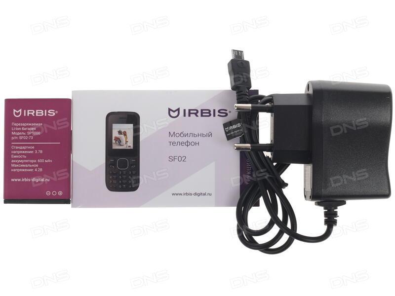 Сотовый телефон Irbis SF50 Black-Blue