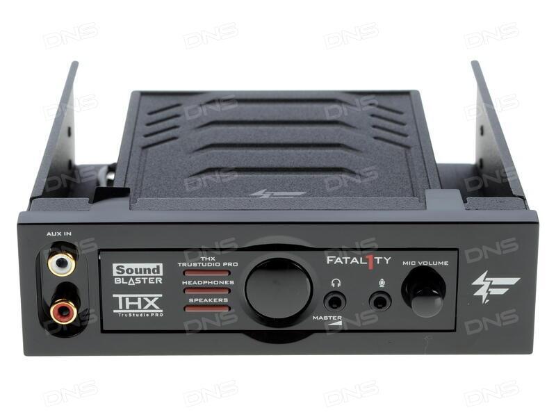 CREATIVE SOUND BLASTER RECON3D PCIE FATAL1TY CHAMPION AUDIO TREIBER WINDOWS 8