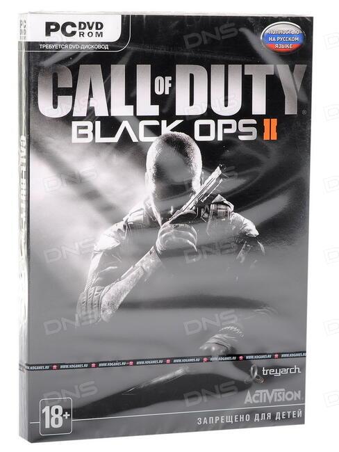 Технические характеристики Игра для ПК Call of Duty: Black