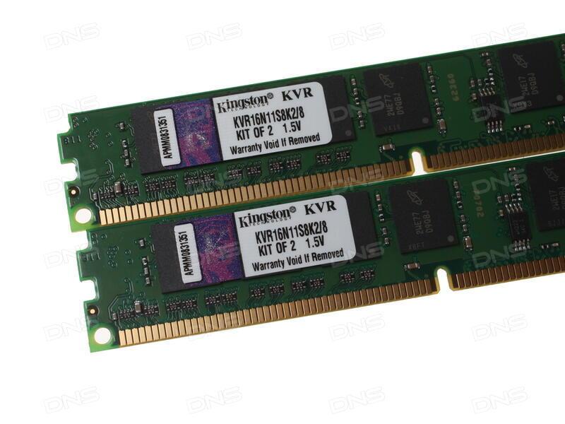 Купить Оперативная память Kingston ValueRAM  KVR16N11S8K2 8  8 ГБ в ... 83553923bd8