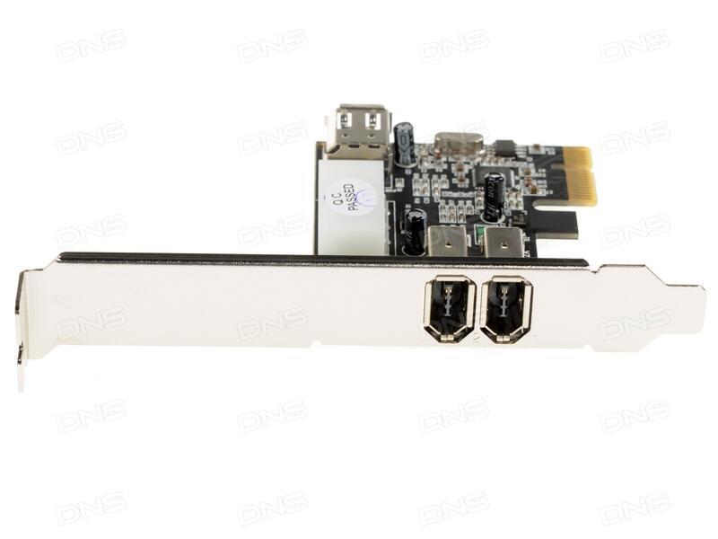 Контроллер PCI-E to USB3.0 Orient VA-3U4PE 4-х портовый хост-адаптер для шины PCI Express доп.разъём питания VIA ret