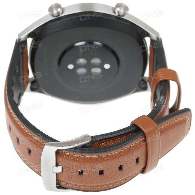 2ecb9709214a5 Купить Смарт-часы HUAWEI WATCH GT ремешок - коричневый в интернет ...