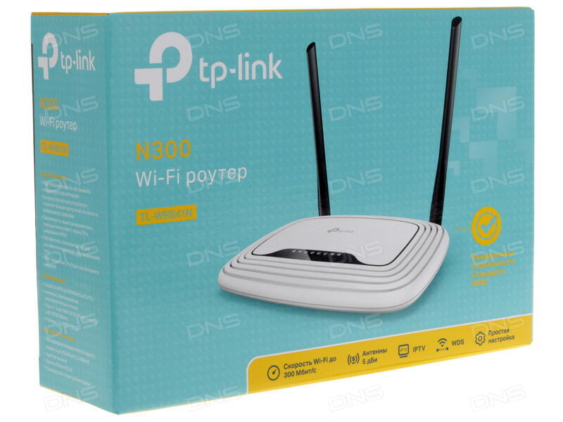 7e91107063ba Купить Маршрутизатор TP-LINK TL-WR841N в интернет магазине DNS ...