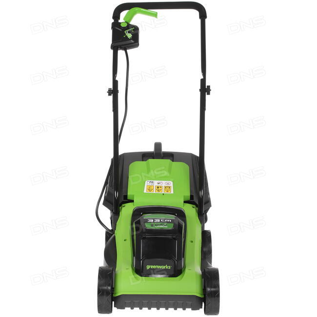 газонокосилка аккумуляторная Greenworks G24lm32k2