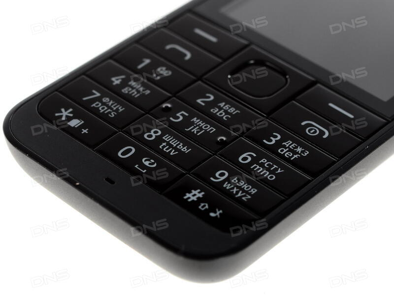 2fadbbf19d6 Купить Сотовый телефон Nokia 220 DS черный в интернет магазине DNS ...