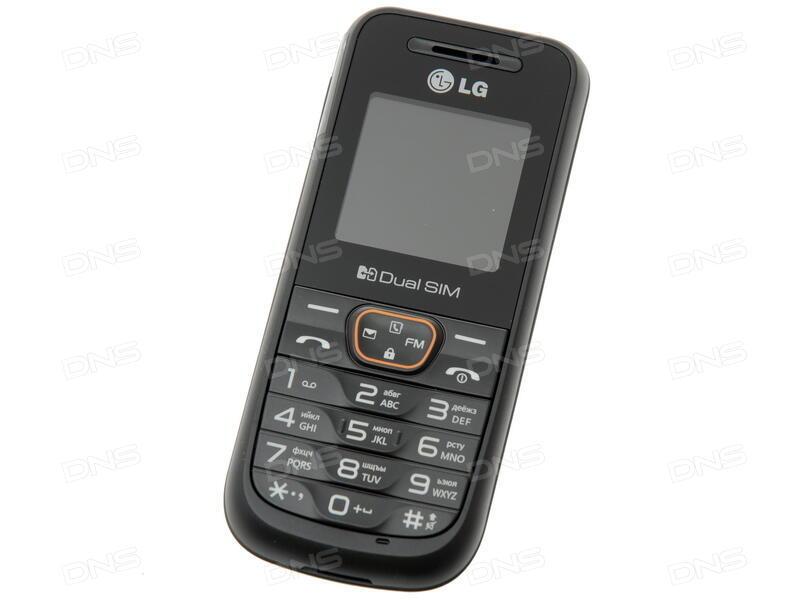 5bf4b3836d511 Купить Сотовый телефон LG A190 Black в интернет магазине DNS ...