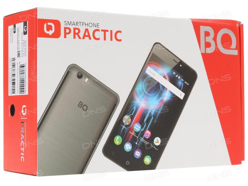 Купить 5 5 Смартфон bright quick bq 5525 practic 8 ГБ черный в