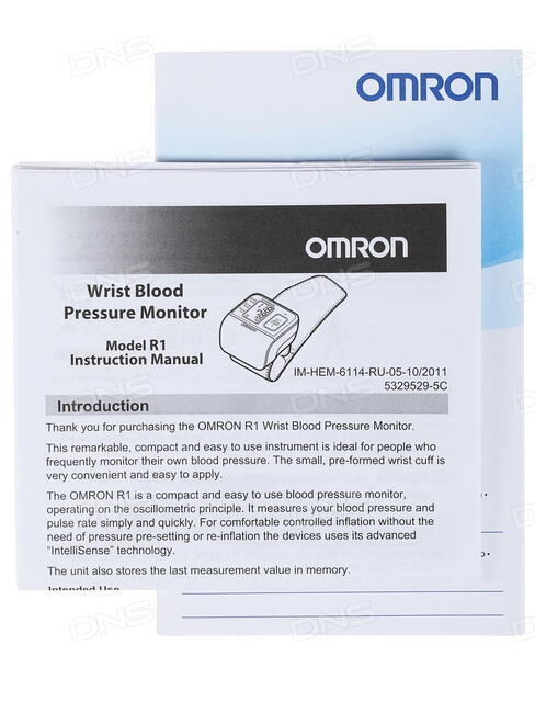 Тонометр Omron R1 HEM-6114-RU