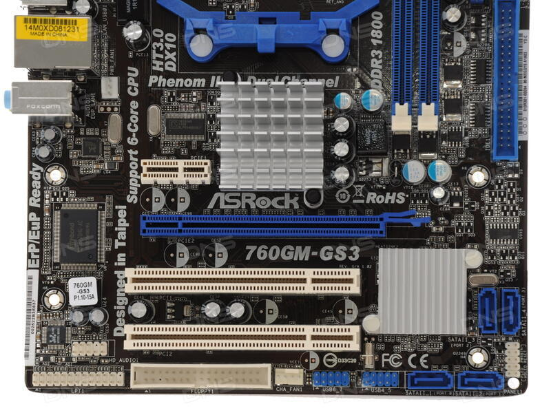 Asrock 760GM-S3 Driver for Windows 7