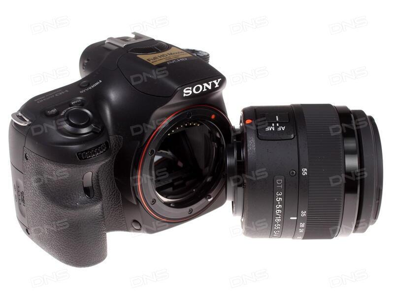 Инструкция sony alpha slt a35 kit dt18 55