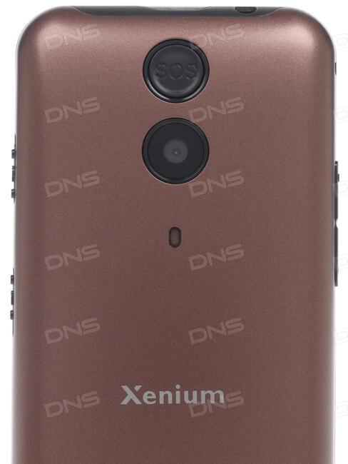 Сотовый телефон Philips X818 Xenium Black