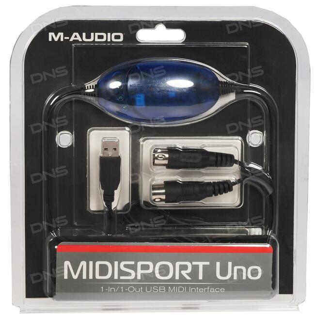 M-AUDIO MIDISPORT UNO MIDI INTERFACE DRIVER