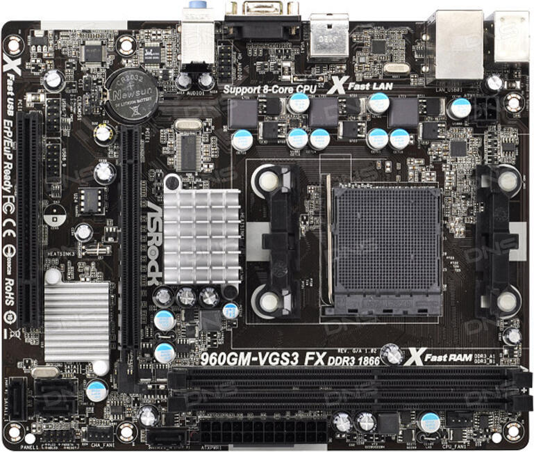 ASRock 960GM-S3 FX XFast RAM Driver for Windows 10