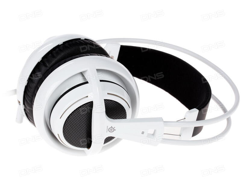 купить наушники Steelseries Siberia V2 белый в интернет магазине Dns