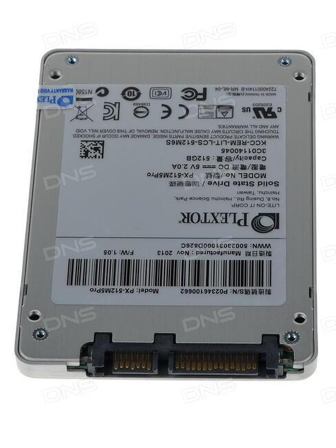 Plextor PX-512M5P SSD 64 BIT